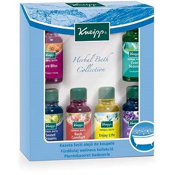 Dárková sada kosmetická KNEIPP Kazeta olejů do koupele 6x20 ml (4008233108322)