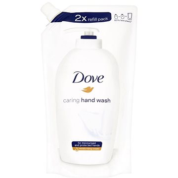 Dove Beauty Cream Wash Original tekuté mýdlo náhradní náplň 500 ml