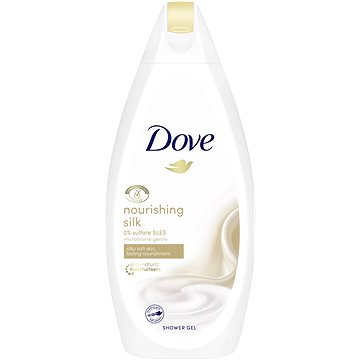 Dove Silk Glow sprchový gel 500 ml