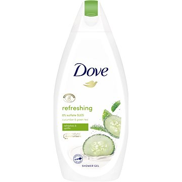 Dove Go Fresh Touch Okurka & Zelený čaj sprchový gel 500 ml
