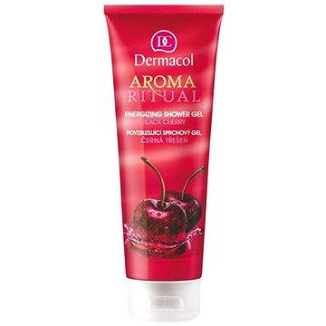 AROMA RITUAL SHOWER GEL - BLACK CHERRY + ZDARMA Tělové sérum DERMACOL Enja sérum 5 ml - tester