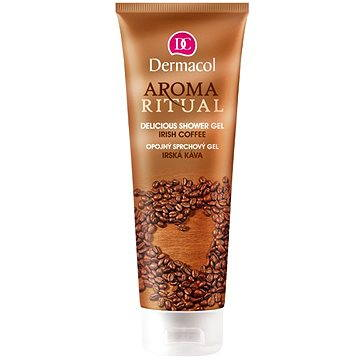 AROMA RITUAL SHOWER GEL – IRISH COFFEE + ZDARMA Tělové sérum DERMACOL Enja sérum 5 ml - tester