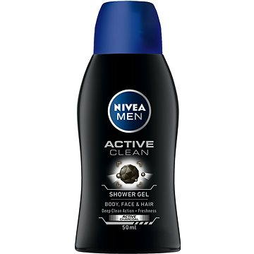 Pánský sprchový gel NIVEA MEN Active Clean mini 50 ml (42277347)