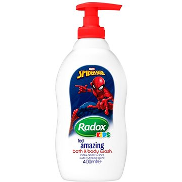 Sprchový gel RADOX Kids Spiderman 400 ml (8710908848315)