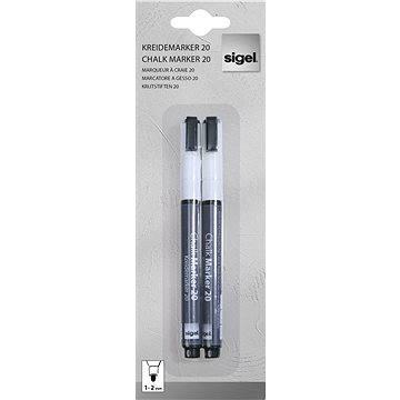 SIGEL křídový 1-2mm bílý (GL178)