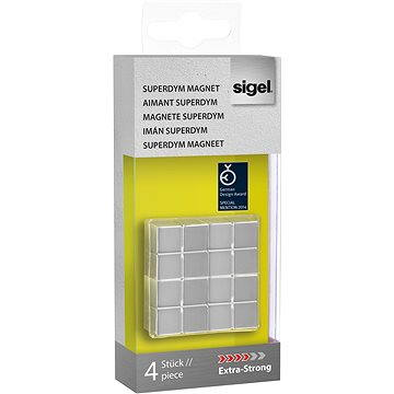 SIGEL Superdym stříbrný 4ks - kostka (GL705)