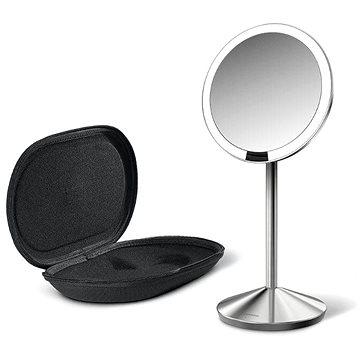 Kosmetické zrcátko Simplehuman Kosmetické zrcátko, Sensor Tru-lux LED osvětlení, 10x zvětšení, dobíjecí (ST3004)