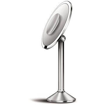 Kosmetické zrcátko Simplehuman Kosmetické zrcátko Sensor PRO,Tru-lux LED, 5x/10x zvětšení, dobíjecí, WiFi (ST3007)