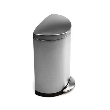 Odpadkový koš Simplehuman Půlkulatý pedálový koš 40l, matná ocel, FPP (CW1818)