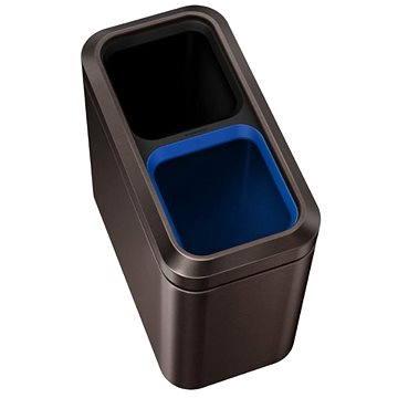 Odpadkový koš Simplehuman Koš na tříděný odpad 10/10l, otevřený, dark bronze (CW2037)