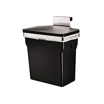 Odpadkový koš Simplehuman Vestavný koš 10l, chromovaná ocel, plastový kbelík (CW1643)