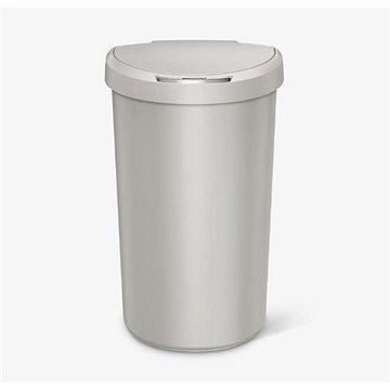 Odpadkový koš Simplehuman Bezdotykový koš 40l, půlkulatý, stone plast (ST2014)