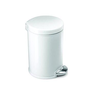Odpadkový koš Simplehuman Pedálový koš 3l, kulatý, bílý (CW1856CB)