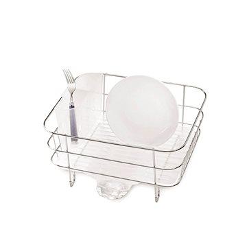 Simplehuman Kompaktní odkapávač na nádobí, drátěný rám, matná ocel/matný plast, FPP (KT1130)