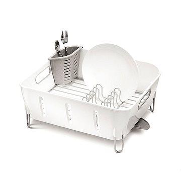 Simplehuman Odkapávač na nádobí Compact, bílý plast (KT1104)