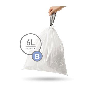 Pytle na odpadky Simplehuman Sáčky do koše typ B, 6l, 30 ks v balení (CW0161)