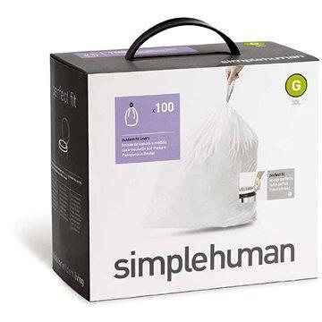 Pytle na odpadky Simplehuman Sáčky do koše typ G, 30l, 5 x balení po 20 ks, (100 sáčků) (CW0237)