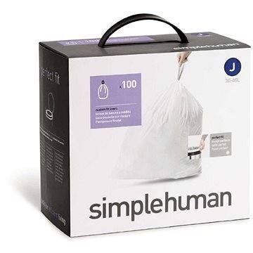 Pytle na odpadky Simplehuman Sáčky do koše typ J, 30-45l, 5 x balení po 20 ks (100 sáčků) (CW0238)