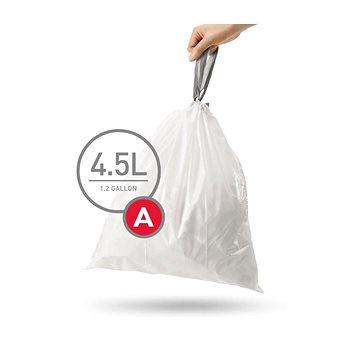 Pytle na odpadky Simplehuman Sáčky do koše typ A, 4,5l, 30 ks v balení (CW0160)