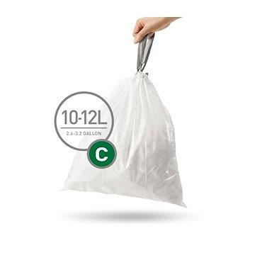 Pytle na odpadky Simplehuman Sáčky do koše typ C, 10-12l, 20 ks v balení (CW0162)