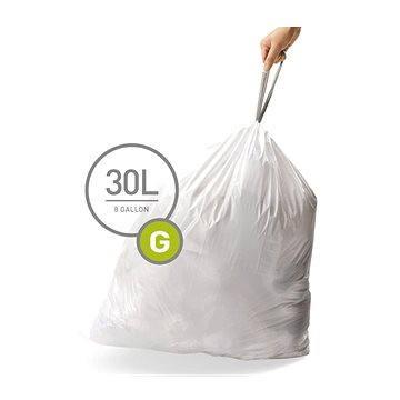 Pytle na odpadky Simplehuman Sáčky do koše typ G, 30l, 20 ks v balení (CW0166)
