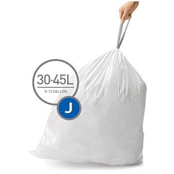 Pytle na odpadky Simplehuman Sáčky do koše typ J, 30-45l, 20 ks v balení (CW0169)