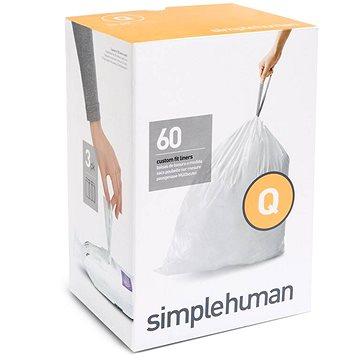 Pytle na odpadky Simplehuman Sáčky do koše typ Q, 50-65l, 3 x balení po 20 ks (60 sáčků) (CW0264)