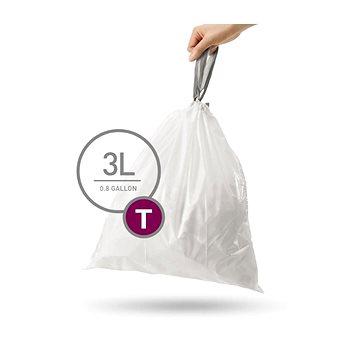 Pytle na odpadky Simplehuman Sáčky do koše typ T, 3l, 40 ks v balení (CW0216)
