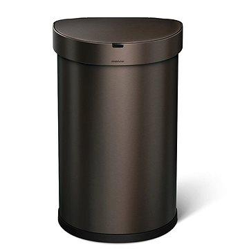 Odpadkový koš Simplehuman, bezdotykový, 45l, bronz (ST2019)