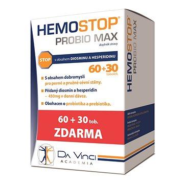 Hemostop Probio MAX Da Vinci Academia tob. 60+30 (2908565)