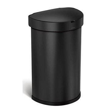 Simplehuman SLIM pedálový odpadkový koš 45L, oválný, kartáčovaná nerez ocel (CW2044)