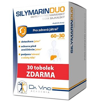 SILYMARIN DUO DaVinci tob.60+30 tob ZDARMA (3320059)