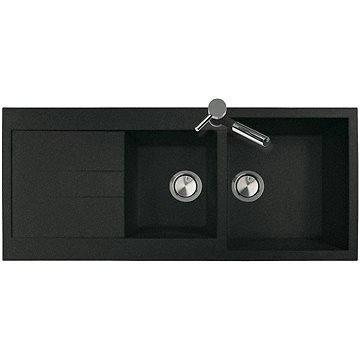 Sinks AMANDA 1160 DUO Granblack (8596142005963)
