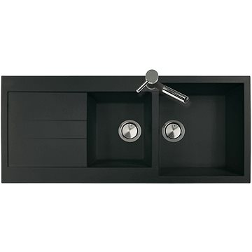 Sinks AMANDA 1160 DUO Metalblack (8596142005956)