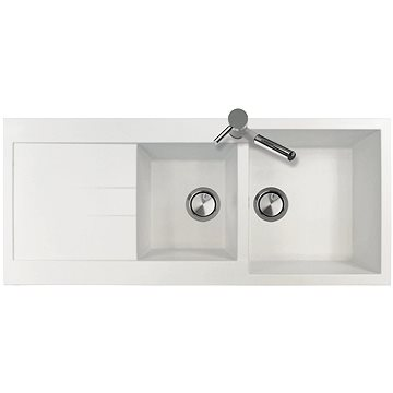 Sinks AMANDA 1160 DUO Milk (8596142005987)