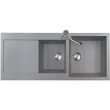 Sinks AMANDA 1160 DUO Titanium (8596142006007)