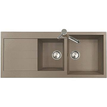 Sinks AMANDA 1160 DUO Truffle (8596142006014)