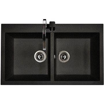 Sinks AMANDA 860 DUO Granblack (8596142006199)