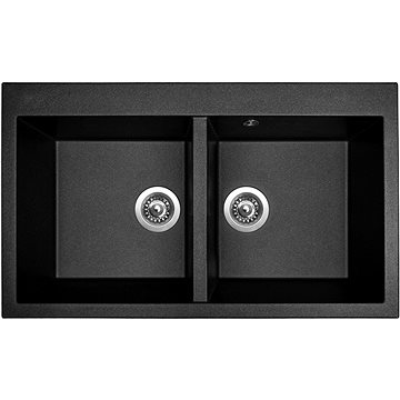 Sinks AMANDA 860 DUO Metalblack (8596142006182)