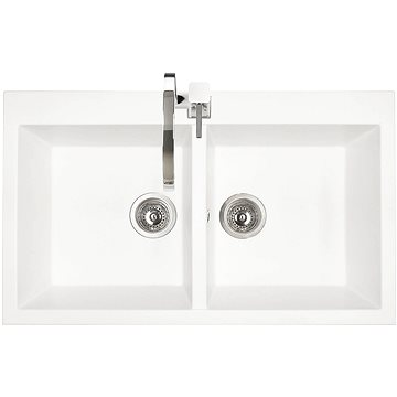 Sinks AMANDA 860 DUO Milk (8596142006212)