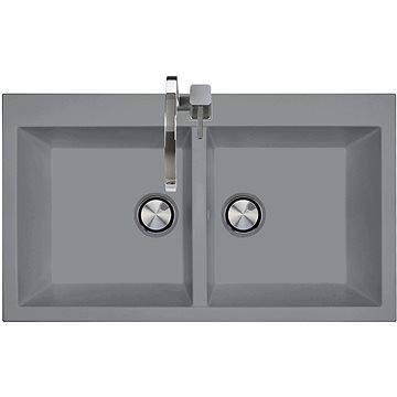 Sinks AMANDA 860 DUO Titanium (8596142006236)