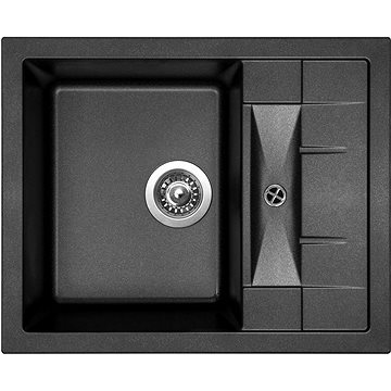 Sinks CRYSTAL 615 Metalblack (8596142000241)