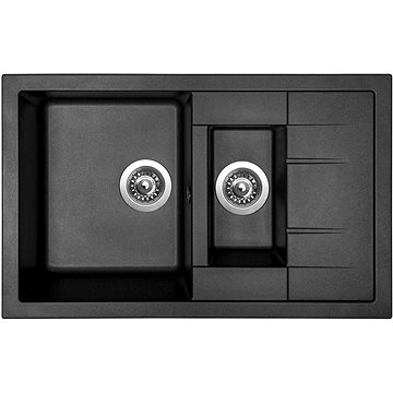 Sinks CRYSTAL 780.1 Metalblack (8596142000357)