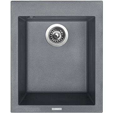 Sinks CUBE 410 Titanium (8596142006472)