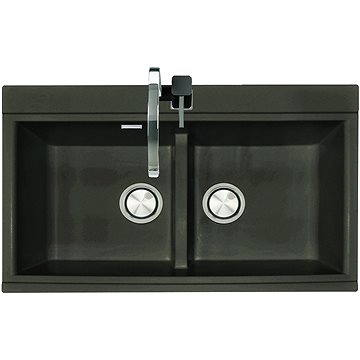 Sinks KINGA 860 DUO Metalblack (8596142006823)