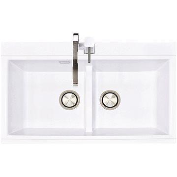 Sinks KINGA 860 DUO Milk (8596142006854)