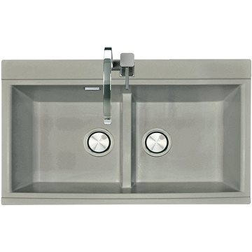 Sinks KINGA 860 DUO Titanium (8596142006878)