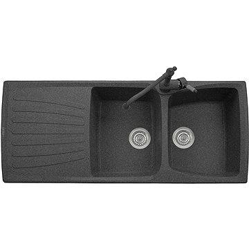Sinks MATIS 1184 DUO Granblack (8596142006915)