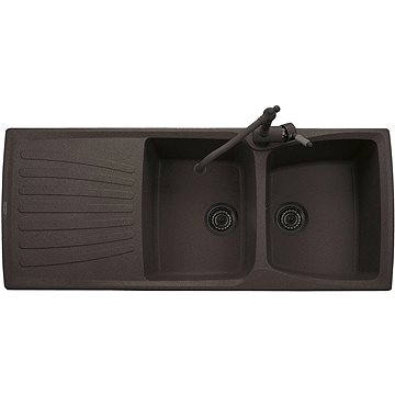 Sinks MATIS 1184 DUO Marone (8596142006922)