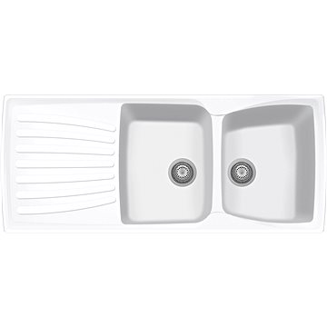 Sinks MATIS 1184 DUO Milk (8596142006939)